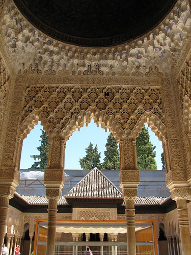 Into the Courtyard, Alhambra