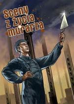 """""""Sceny z życia murarza"""", scenariusz: Jerzy Szylak"""