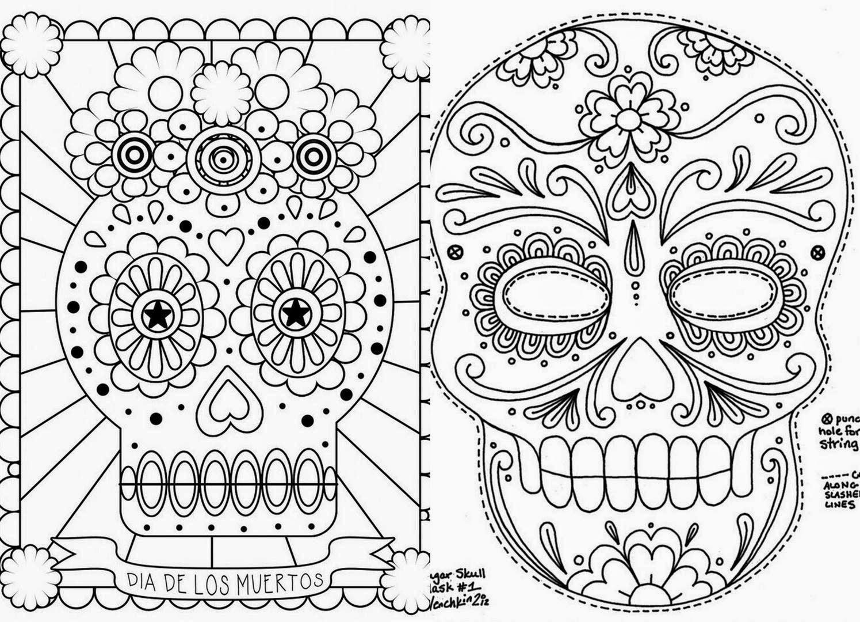Imagenes De Calaveras Para Dibujar Del Dia De Muertos Jidiworkoutco