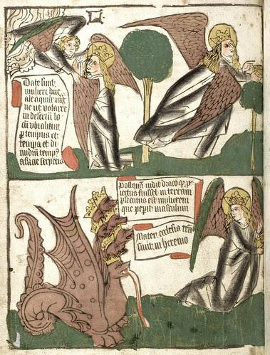 Apokalypse blockbook manuscript 72v