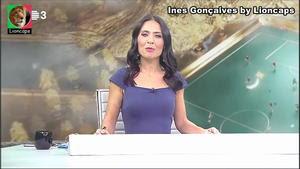 Ines Gonçalves sensual na Rtp