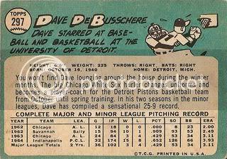 #297 Dave DeBusschere (back)