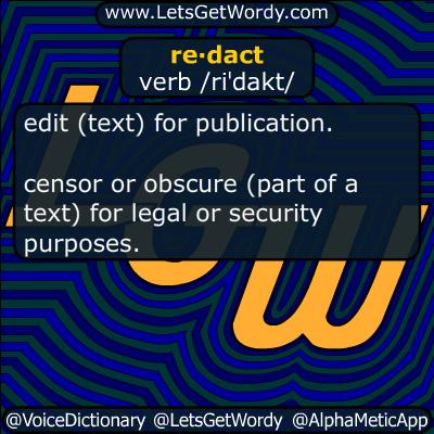redact 11/03/2016 GFX Definition