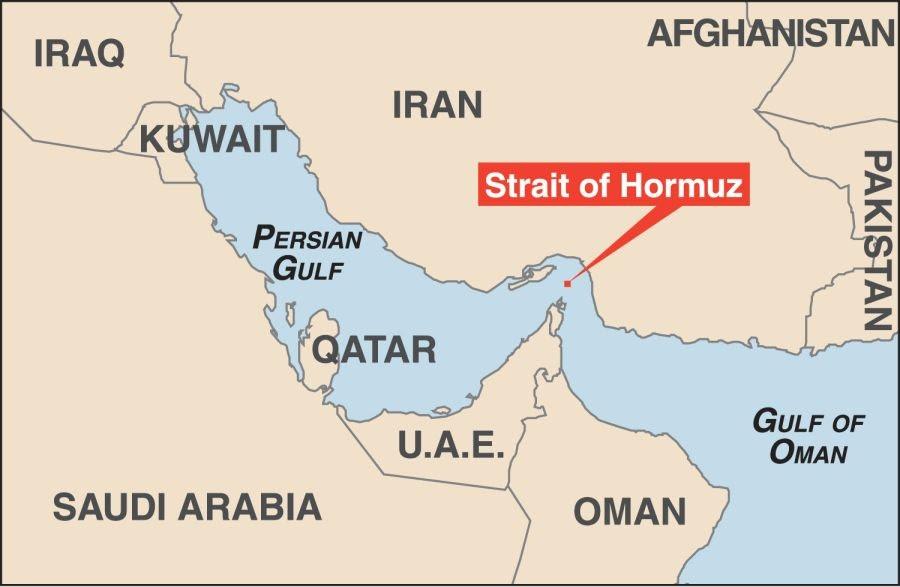 Δορυφορικές φωτογραφίες ιρανικών πυραύλων στον Περσικό Κόλπο προκάλεσαν την κλιμάκωση της κρίσης