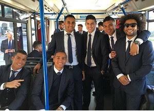 Real Madrid viaja para Manchester (Foto: Instagram)