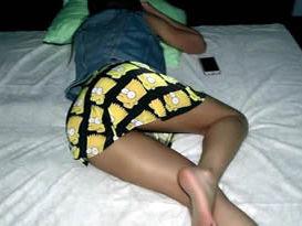 Dormiu sem calcinha e foi acordada pelo marido para tomar leitinho na xana