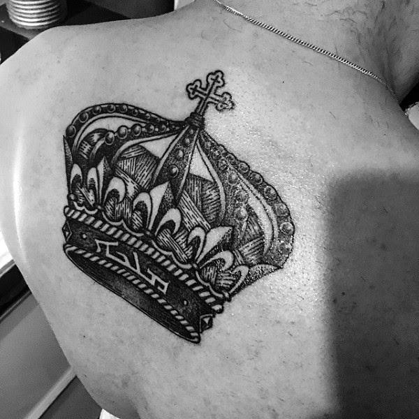 30 Most Powerful Crown Tattoos For Men Tattoos Era