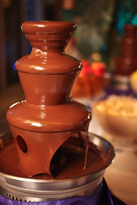 Chocolate Fountain Menu   Brown Brothers Catering