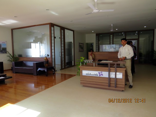 Sales office - Site Office of Siddhashila Eira, 2 BHK & 3 BHK Flats in 16 Story 2 Towers with Amenities & Parking on & under the Podium at Koyate Vasti, Punawale, PCMC, Pune 411033