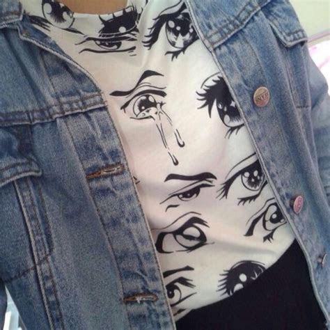 shirt anime anime shirt anime eyes aesthetic