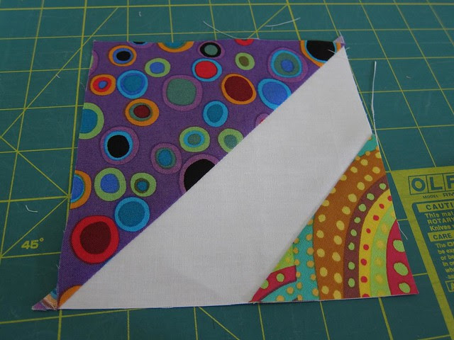 Stitch and flip HSTs tutorial