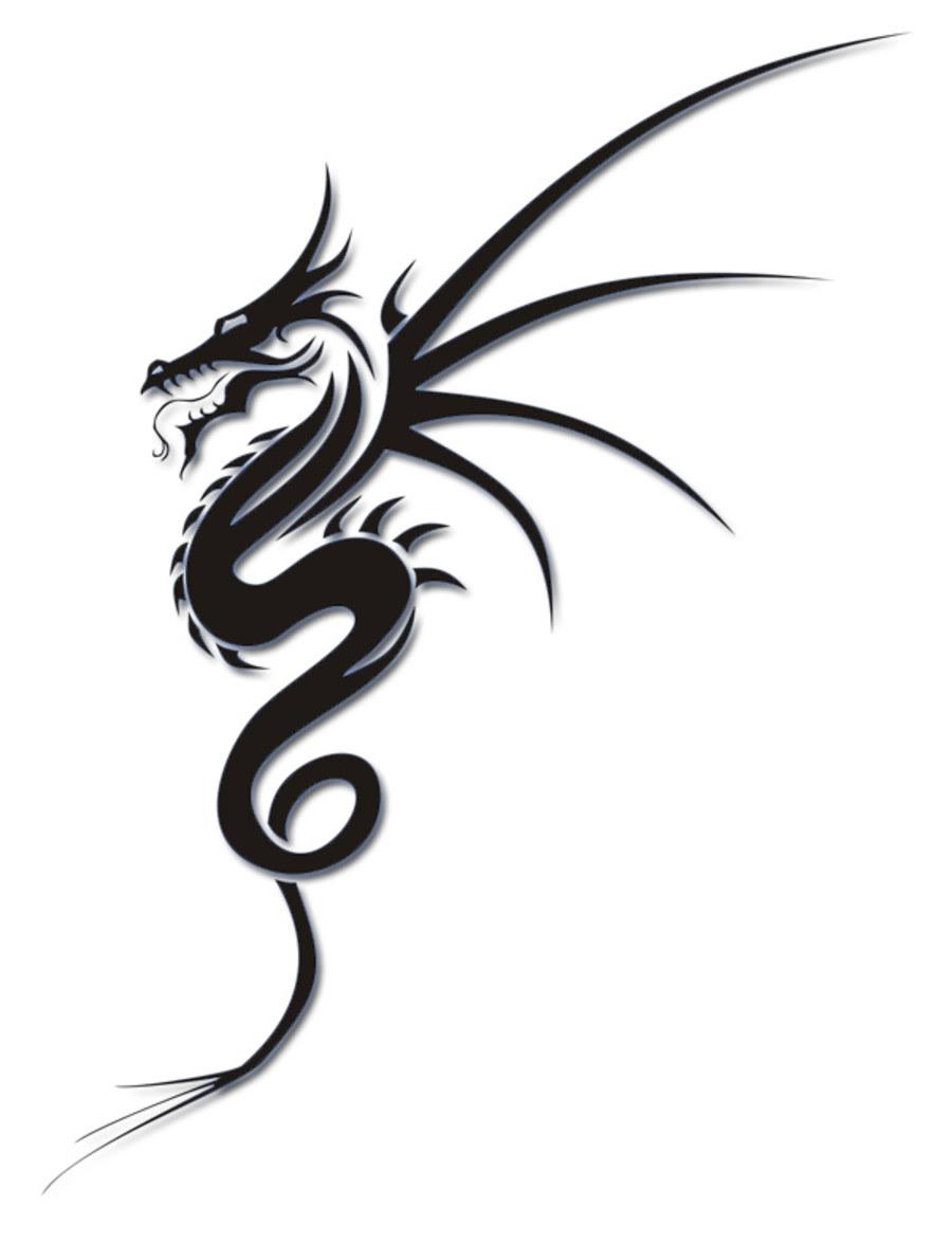 Free Dragon Tattoo Download Free Clip Art Free Clip Art On Clipart