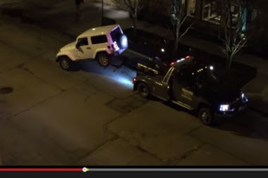 It's Illegal to Tow a Car in Chicago if the Owner Shows Up