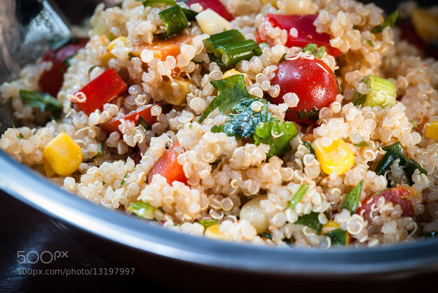 Sweet Potato and Quinoa Salad by Jay Scott (jayscottphotography) on 500px.com
