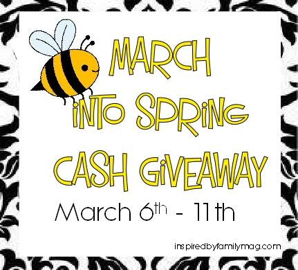 spring cash giveaway
