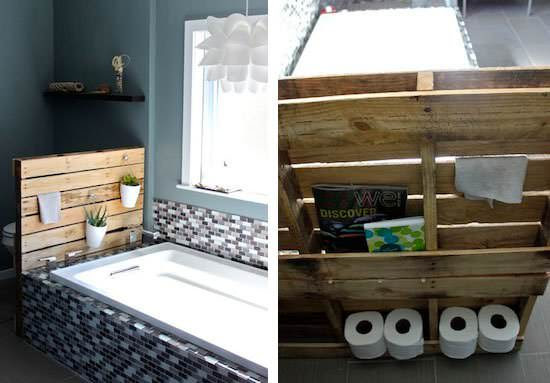 17 Diy Pallet Projects For Bathroom Veryhom