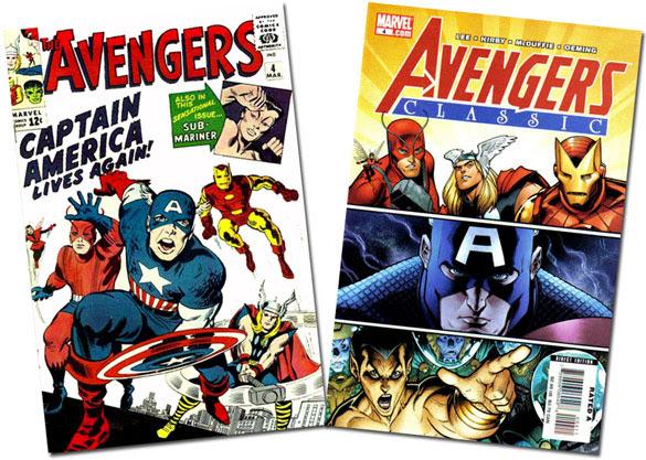 Avengers and Avengers Classic #4