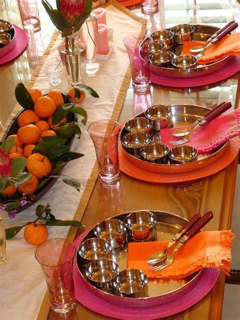 A beautiful tablescape by Komali Nunna. Perfect for Diwali