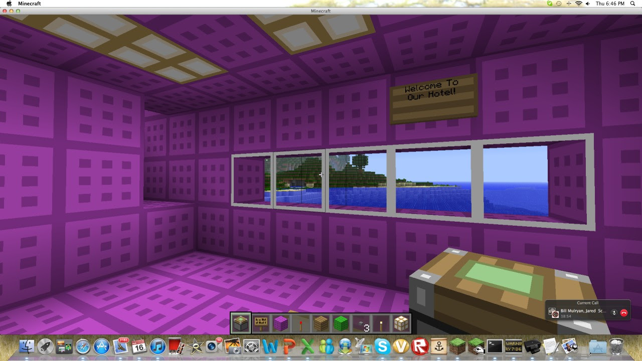 Minecraft Seed With Hotel - Muat Turun q