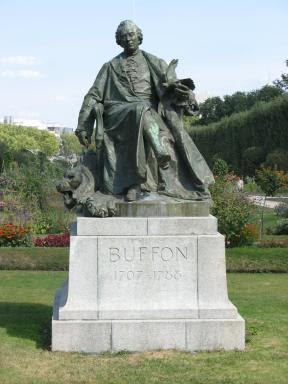 Buffon Statue in Paris