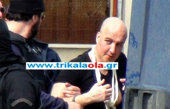 ΒΙΝΤΕΟ: Η μεταφορά του Π. Βλαστού από το νοσοκομείο στις φυλακές