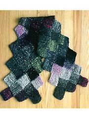 Entrelac Scarf Knit Pattern