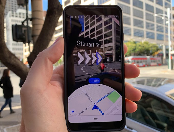 The augmented reality of Google Maps adds features in Madrid and Barcelona