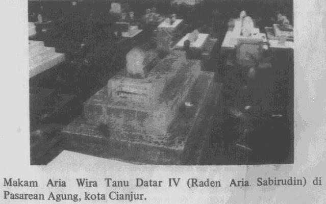 Makam Aria Wira Tanu Datar IV
