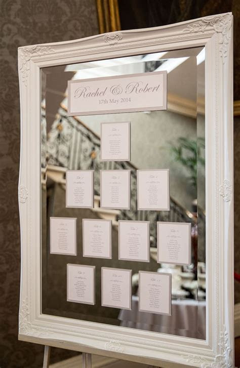 The 25  best Mirror seating chart ideas on Pinterest