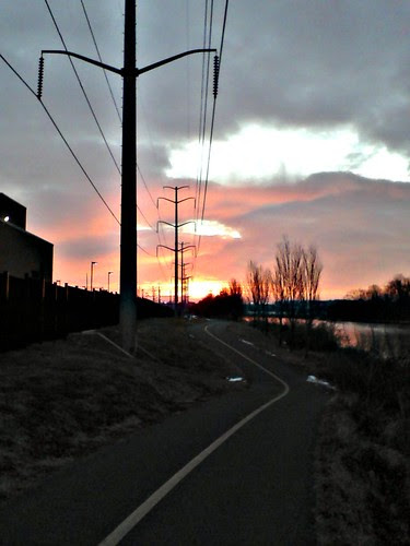 Morning Commute Four Mile Run