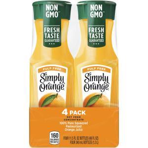 Is Simply Orange Juice Gluten Free