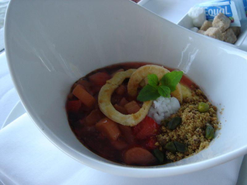 Stawberry Rubarb Dessert