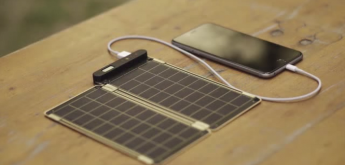 'Solar Paper' world's first super thin and lightest solar charger for iPhones
