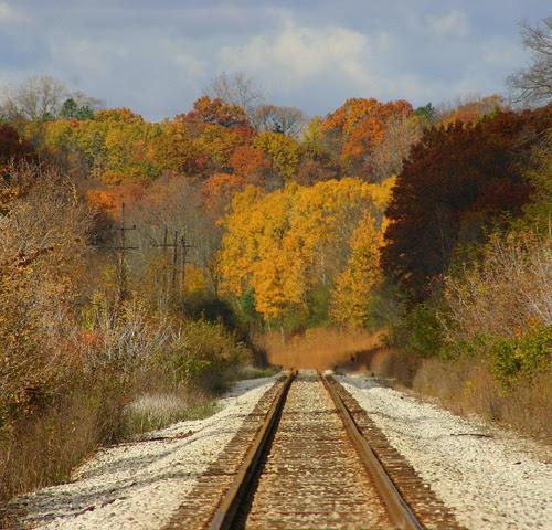 Linha férrea para lugar algum