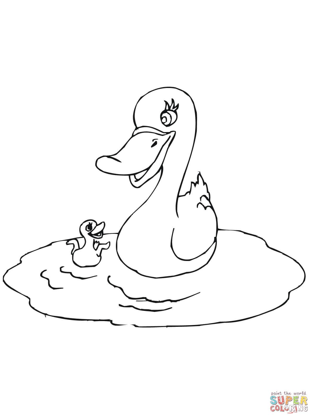 Dibujos De Patos Para Colorear Páginas Para Imprimir Y Colorear Gratis