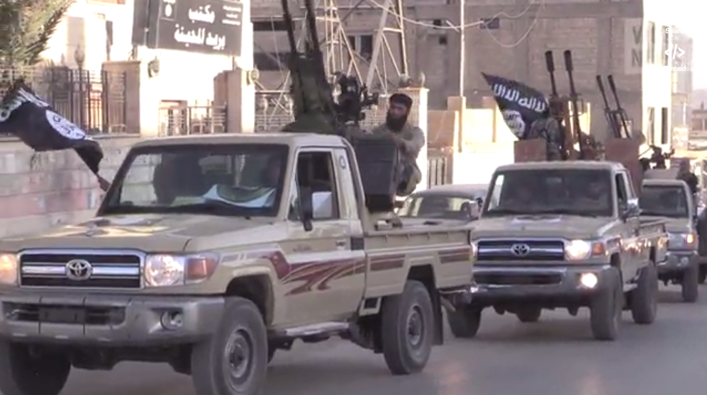 ISIS islamic state militants raqqa