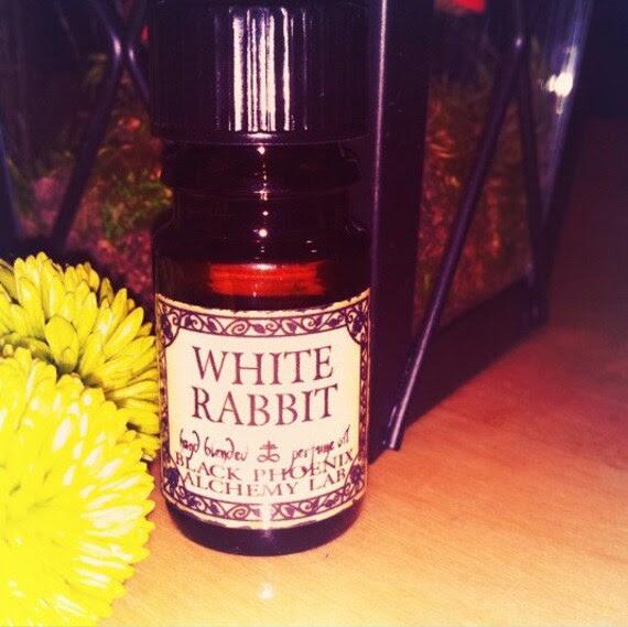 White Rabbit: Black Phoenix Alchemy Lab Alice in Wonderland Perfume Oil