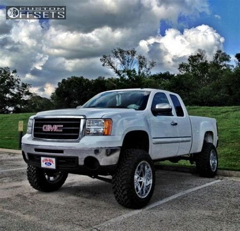 Wheel Offset 2010 Gmc Sierra 1500 Super Aggressive 3