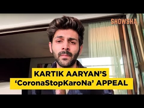 Karthik Aryan's 150-second monologue, insisting on social distancing in a fun way - don't stop Corona