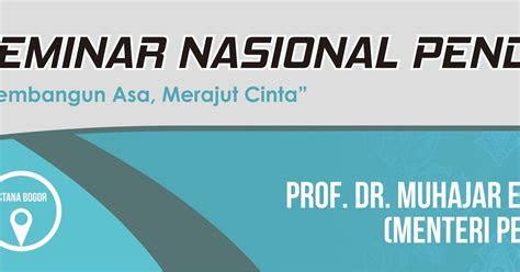 template spanduk seminar nasional pendidikan