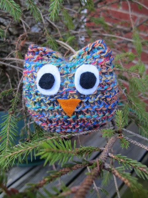 knitting club owl