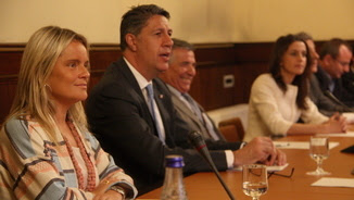 Maria del Mar Blanco, Xavier García Albiol, José Vargas, Inés Arrimadas