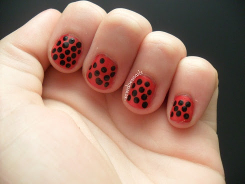 L is for Ladybug...might be easier than leopard