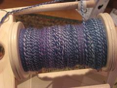 Vari blue and purple