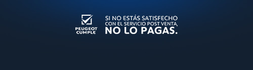 SI NO ESTÁS SATISFECHO CON EL  SERVICIO POST VENTA, NO LO PAGAS