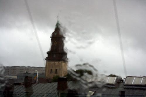 Rainy clocktower