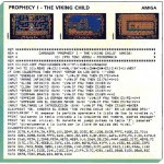 Prophecy i - The viking child - Amiga