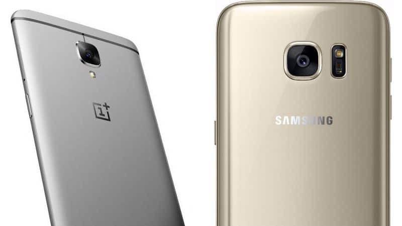 OnePlus 3 vs samsung s7