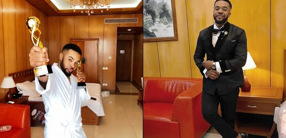 Actor Williams Uchemba Bags Two Awards And A Brand New SUV In One Night