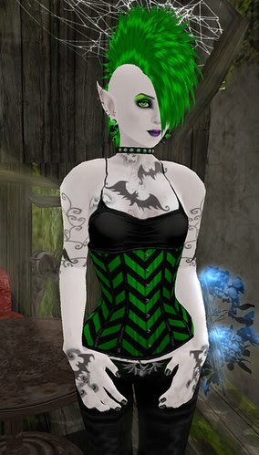 wolf & corset